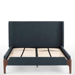 Roscoe King size bed, H114 x W172 x D215cm, Aegean Blue