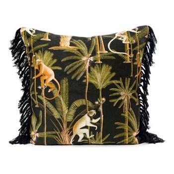 Barbados Anthracite Square cushion, L50 x W50cm, multi
