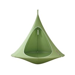 Cacoon World Single hanging armchair, Dia150cm, leaf green