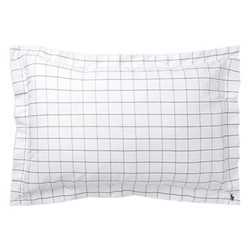Baxter King size pillow sham, 50 x 90cm, charcoal