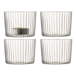 Gio Set of 4 tealight holders, H6cm