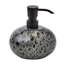 Ugo Soap dispenser, L13 x W11 x H14cm, olive black