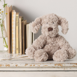 Riley Puppy Soft toy, H23 x W18 x L24cm, natural