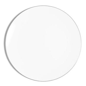 Line - Colour Coupe plate, D32cm, metallic platinum