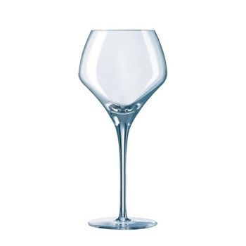 Set of 6 round wine glasses 13oz