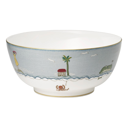 Sailors Farewell Large salad/fruit bowl, D25 x H11.5cm
