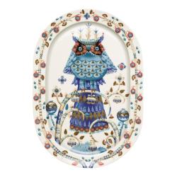 Taika Oval serving platter, 41cm, white