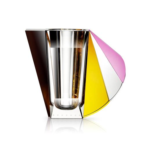 Grand Manhattan Vase, Stripe, Multicolour