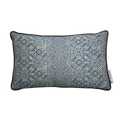 Nahuala Cushion, 42 x 70cm, blue