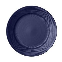 Blue Fluted Deep plate, 24cm
