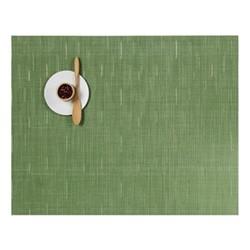 Bamboo Set of 4 rectangular placemats, 36 x 48cm, lawn green