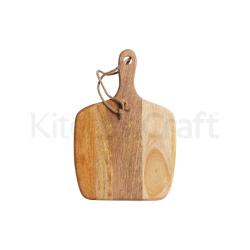 Square paddle board, 28 x 41 x 1.5cm, Mango Wood