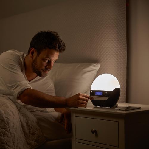 Bodyclock Luxe 700 Alarm clock, H20 x W23 x D13cm