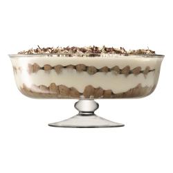 Serve Dessert comport, 31cm, clear