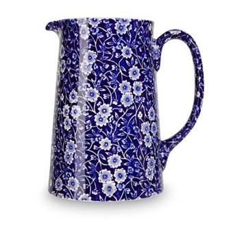 Calico Jug large, 2.2 litre - 4pt, blue