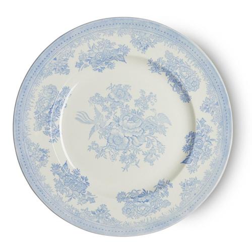 Asiatic Pheasants Dinner plate large, 29cm, Blue