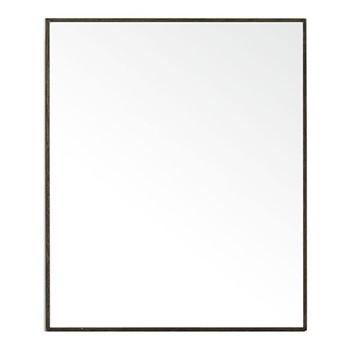 Slimline Cabinet, H55 x W45 x D12cm, dark brown