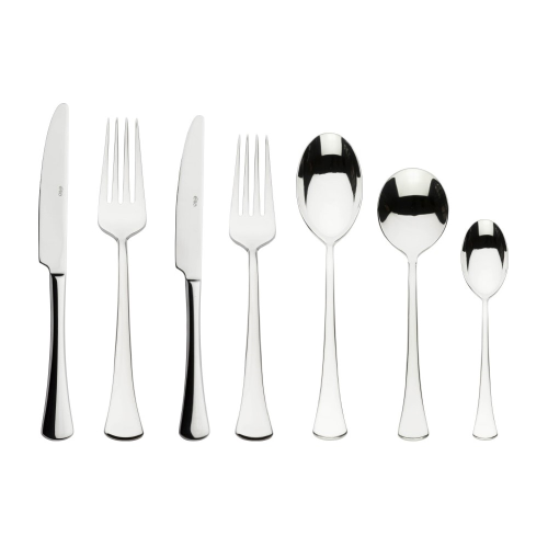 Aquila 44 piece cutlery set, Mirror Finish Polished