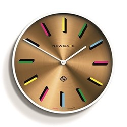 Number X Fancy Pants Large clock, 60 x 60 x 6cm, white