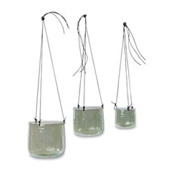 Viri Emerald Hanging Planters
