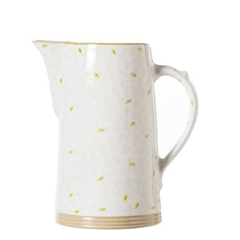 Lawn XL jug, H26cm, white