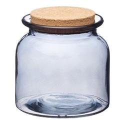 Natural Elements Storage jar, 10.5 x 10.5cm, smoky