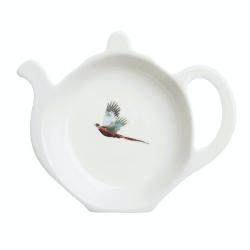 Pheasant Tea bag tidy, 10cm