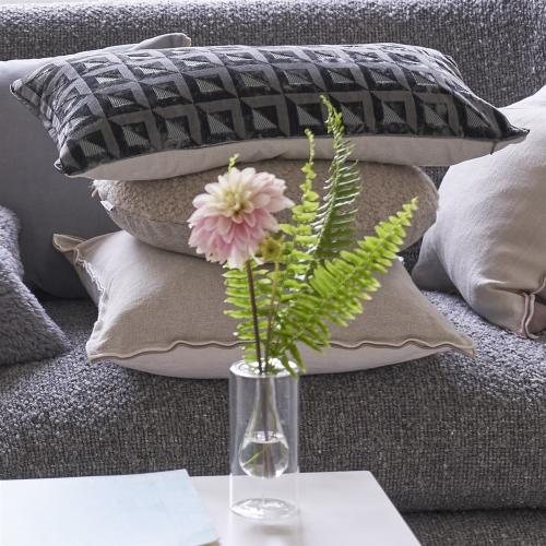Monserrate Cushion, H30 x W50cm, Graphite