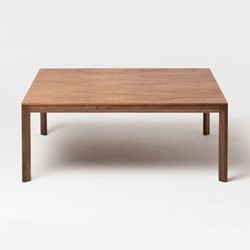 Trieste by Matthew Hilton Coffee Table, W100 x D100 x H40cm, walnut
