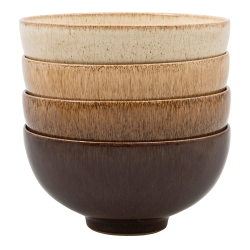 Studio Craft Set of 4 rice bowls, 48cl - 13 x 6.5cm, Mixed