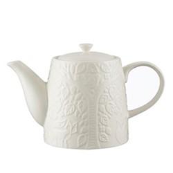 In The Forest Teapot, L23.3 x W12.8 x H15.7cm, cream