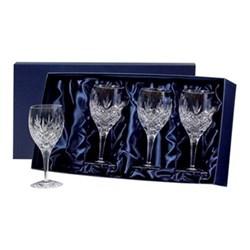 Set of 4 large wine glasses 180mm