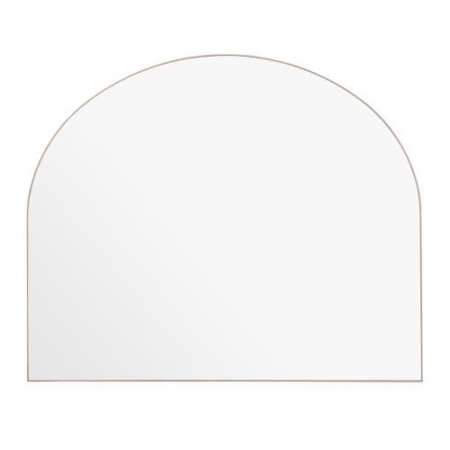 Fine Wood Over mantal mirror, H100 x W75cm, Walnut