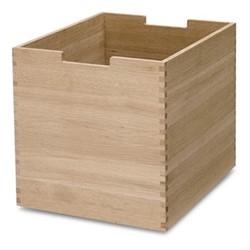 Cutter High box, W30 x D36 x H34cm, oak