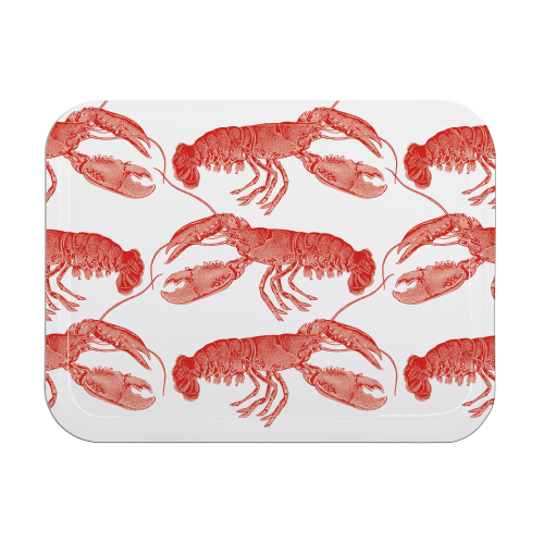 Lobster Small tray, 27 x 20cm, coral