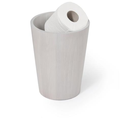 Mezza Bin, H26 x W20 x D20cm, Oyster White