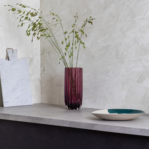 Ripple Vase, H25 x W12cm, Multi