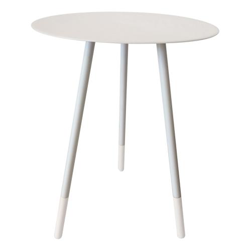 Small round table, H49cm x Dia36cm, Dove Grey