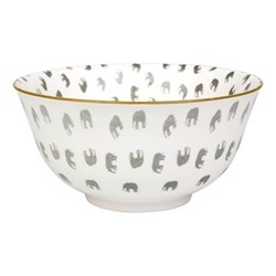 ZSL Elephant Bowl, D14.5cm, multi