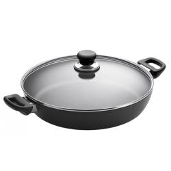 Classic Chef pan with lid, 32cm, Ceramic Titanium