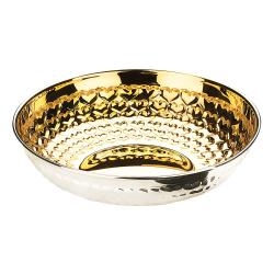 Love Bowl, W16cm, Partially Gilded Sterling Silver
