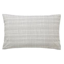 Lintu Standard pillowcase, L48 x W74cm, dandelion and pebble