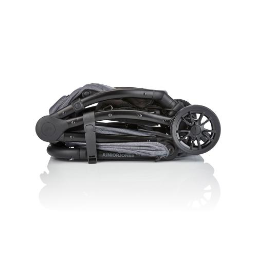 J-tourer Stroller, Frost grey, H102 x W47 x L66cm, Grey