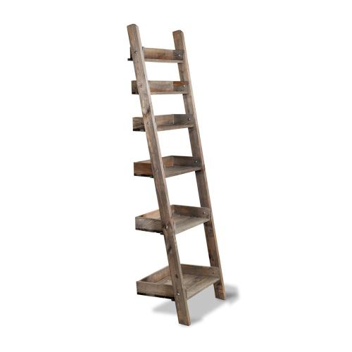 Aldsworth Shelf ladder, H178 x W49 x D40cm, Spruce Wood