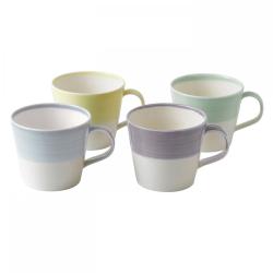 1815 Brights Set of 4 mugs, 40cl, Lights