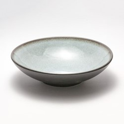 Tourron Natural Soup plate, 19cm, ecorce
