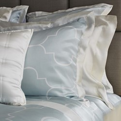 Casablanca Square pillowcase, 65 x 65cm, ice blue