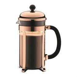 Chambord 8 cup coffee maker, 1 litre, copper