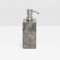 Veneto Soap pump, H18 x D6cm, gray polished marble