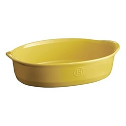 Provence Set of 3 small oval oven dishes, L27 x W18cm - 150cl, yellow